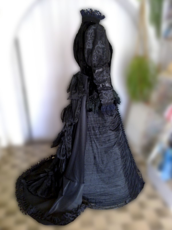 šaty na zámek Milotice #1
