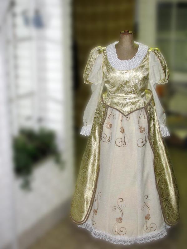 šaty na zámek Milotice #2