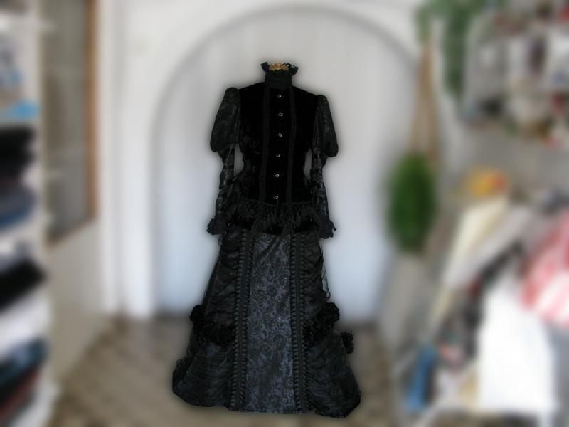 šaty na zámek Milotice #4