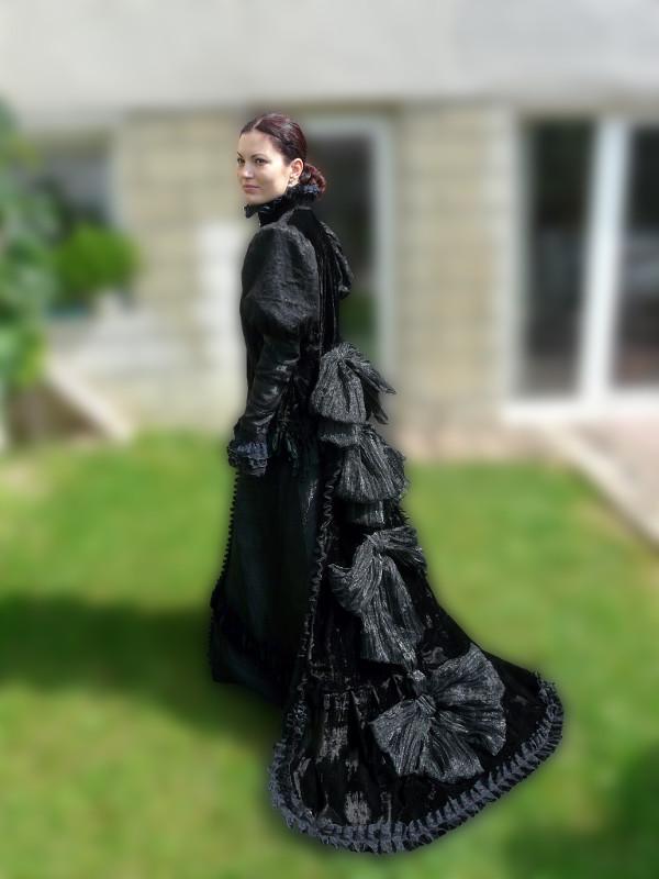 šaty na zámek Milotice #5