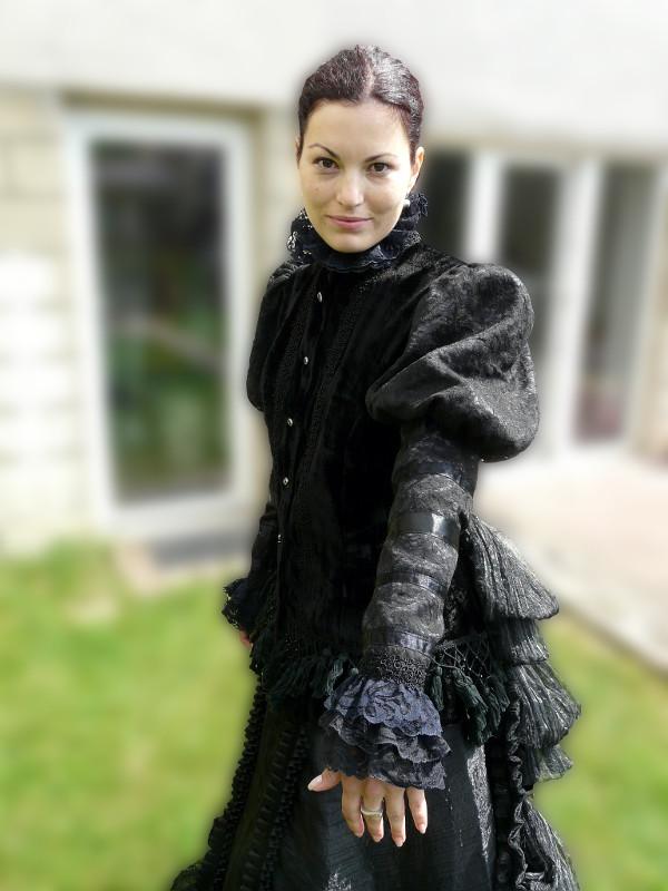šaty na zámek Milotice #6
